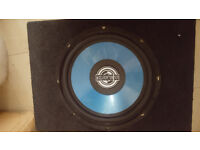 Woofer and amplifier Sony 250w