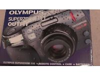 OLYMPUS SUPERZOOM 110 OUTFIT,NEW IN MINT CONDITION