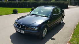 BMW 3 Series SE Auto Diesel 50+MPG Black Leather Seats: E46 Cruise Control like Audi or VW