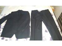 Black 2 piece suit- Tom Moore