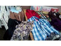 Bundle of ladies clothes size 12 NEXT Vanilla Superdry H&M