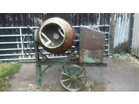 FREDERICK BARKER PETROL CEMENT MIXER IN GOOD WORKING ORDER £195