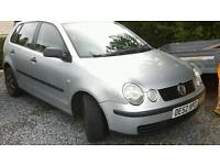 VW polo , spares or repairs.