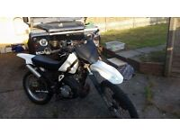 Yamaha dt 125 not cr kx rm yz gilera runner pit bike