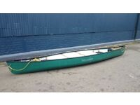 2015 Hou 16 open canoe with towlines and optional buoyancy blocks