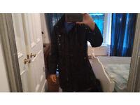 Men's Extra Large Black Coat