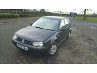2002 Volkswagen Golf 1.4 E Petrol Manual 5 Door - MOT February 2018 - Service History - 92083 Miles