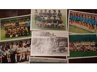 Various issue football card/sticker collections