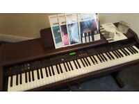 Technics digital piano mint condition , 88 weighted/note model sxpr170