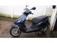 2015 piaggio fly 50 4T scooter
