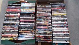Huge Job-lot of 100 DVDs.
