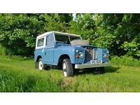 Land Rover Series 3 88 1977 Blue