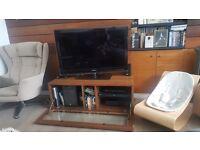 Tv bench alphason wood veneer