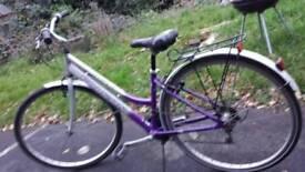 Ladies Hybrid City Touring Bike