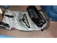 Henty cycle suit bag