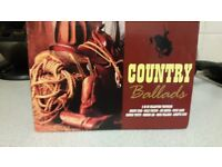 Country Ballads cd's