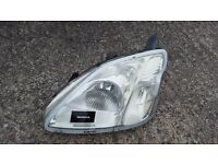 Honda Civic Pair of Headlights Including Full Size Headlight Converter For Foreign Travel