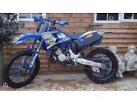 YAMAHA YZ 125 2000/2001