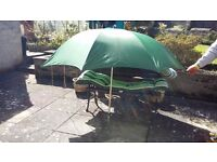 Large green fishing umbrella £15