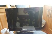 "Alba LED 16"" flat screen tv with dvd player. 6 months old £50"