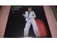 DAVID BOWIE - LIVE ALBUMS - VARIOUS PRICE'S