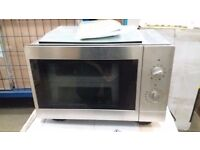 NEW indesit built in microwave grill 18 litres 800w complete with fittings