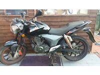 Motorbike KSR code 125