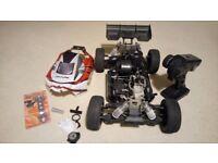Ansmann Virus 3.0 nitro buggy rc car 1/8 scale