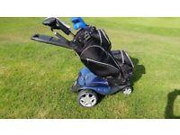 Stewart f1 remote control golf trolley