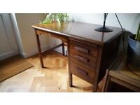 Stylish Vintage Abbess Desk - delivery available