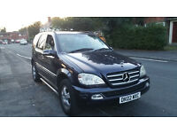 Automatic Diesel Mercedes ML 270, nice 7 seater family car