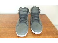 Pair of Boxfresh Midford hi top shoes size11 as new condition