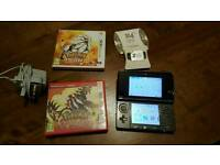 Nintendo 3ds, Pokemon Sun and Pokemon Ruby. 32 GB SDHC