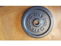 Pro Fitness Cast Iron Weight Plates 5KG X4