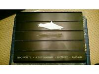 Stealth Electronics 800w Car Amplifier