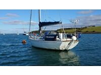 RUSTLER 31 EXCELLENT CRUISING YACHT ,RE ENGINED £26500