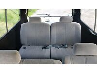 Van seats 4off, great condition with removable covers, front two seats rotate, would suit camper van