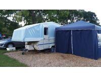 dandy destiny highside folding camper/ trailer tent
