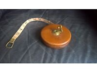 """Chestermans of Sheffield """"Constantia"""" Vintage Measuring Tape"""