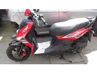 sym crox 125 4 stroke scooter 66 plate yamaha honda suzuki kawasaki piaggio gilera