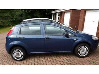 Fiat Punto Active, 1.2 petrol. Lovely car, ideal for new drivers as cheap to insure.