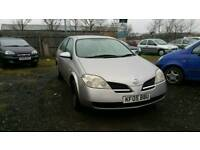 2005 NISSAN PRIMERA 1.8 PETROL , , EXCELLENT RUNNER , , CHEAP CAR