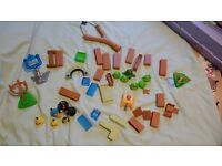 Angry Birds and Pigs Playset - FREE