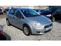 Fiat GRANDE PUNTO 1242 Petrol Hatchback, Manual, Grey, 2006 (56) Mot 28/02/17