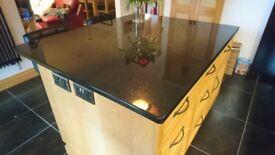 grantite worktop in excellent condition