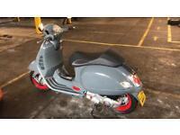Vespa gt200 (reg as 125cc) 2005 £1695 ono