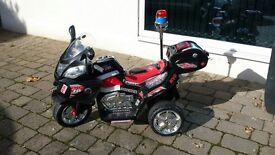 Kids ride on motorcycle - sold!