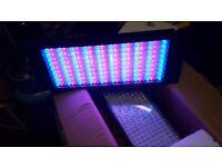 Ledj rgb uplighter battens 2 off vgc boxed ideal dj bands theatre . Lighting