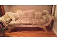 Stylish Asian/African wedding throne for sale