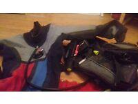 Medium BCD and drysuit